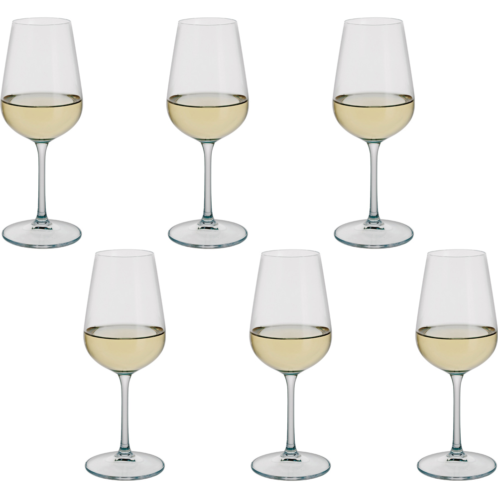 Drink! White Wine Glass Set (6 Pack