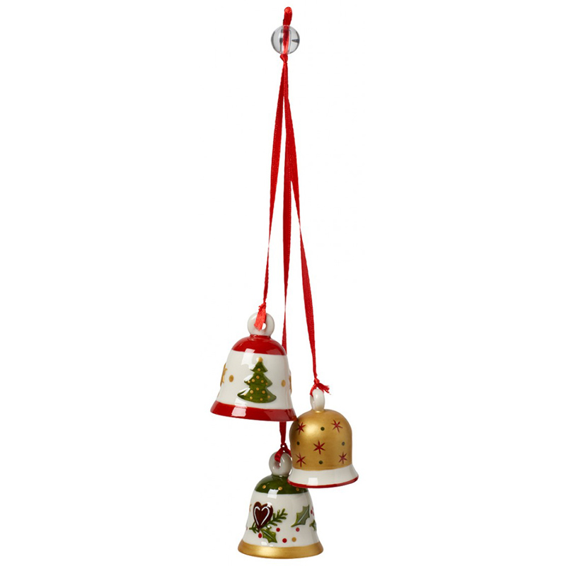 Christmas Bell Images.My Christmas Tree Trio Christmas Bells Ornaments